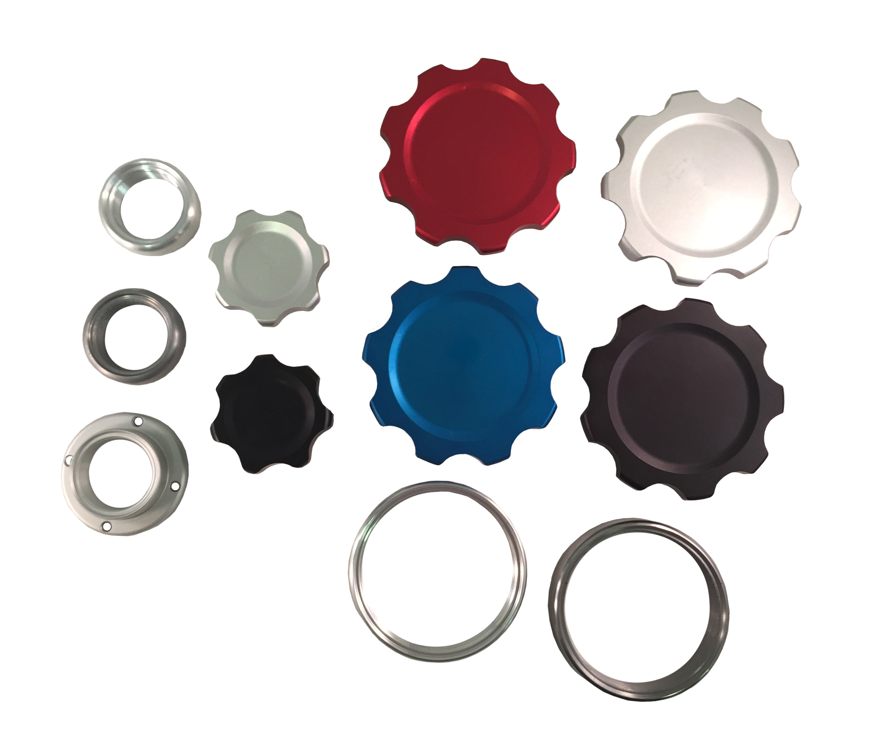 Billet Filler Cap Kits