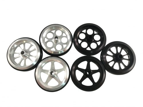 Billet Wheelie Bar Wheels