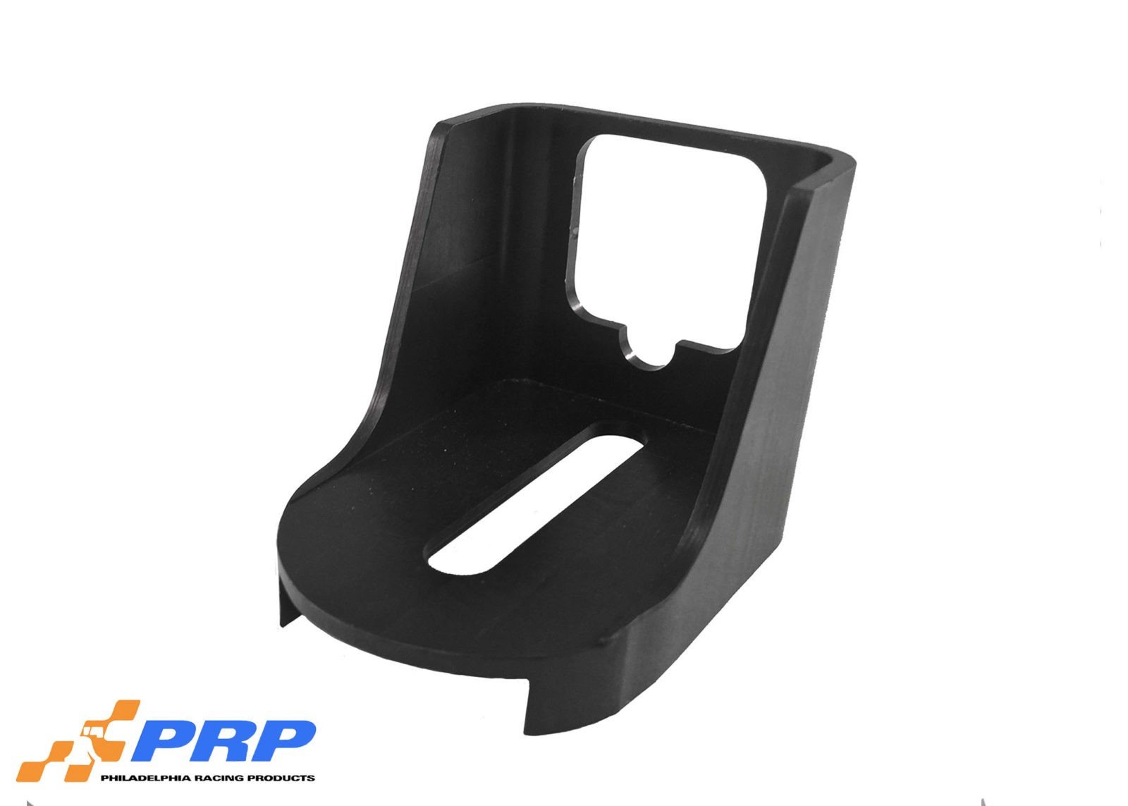 Black GM Kickdown Detent Cable Brackets made by PRP Racing Products