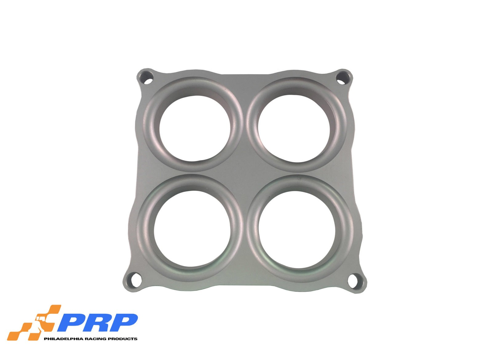"Clear 2.00"" Bore Holley 4500 Style Shear Plate made by PRP Racing Products"
