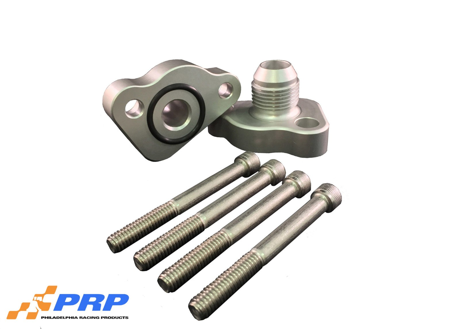 Clear SBF 12AN Block Adapters made by PRP Racing Products