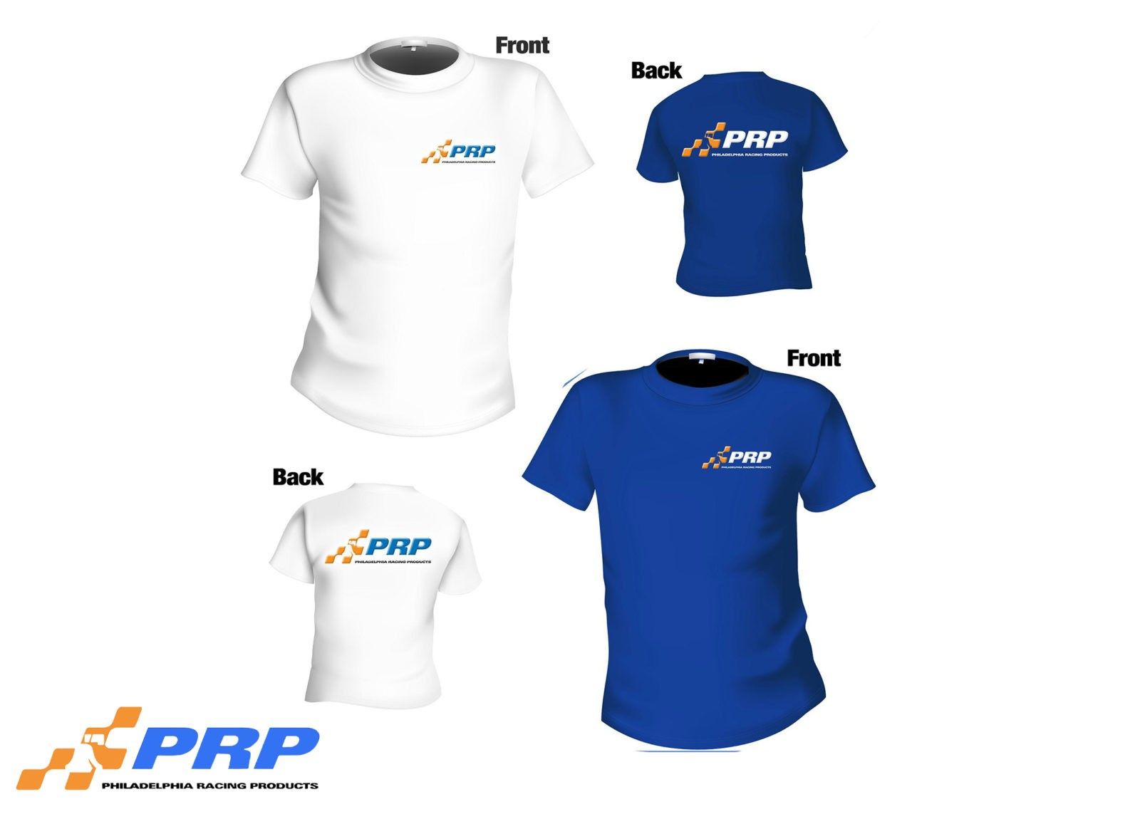PRP & PRE Shirts available in Blue, Red, Grey, Black and Charcoal.