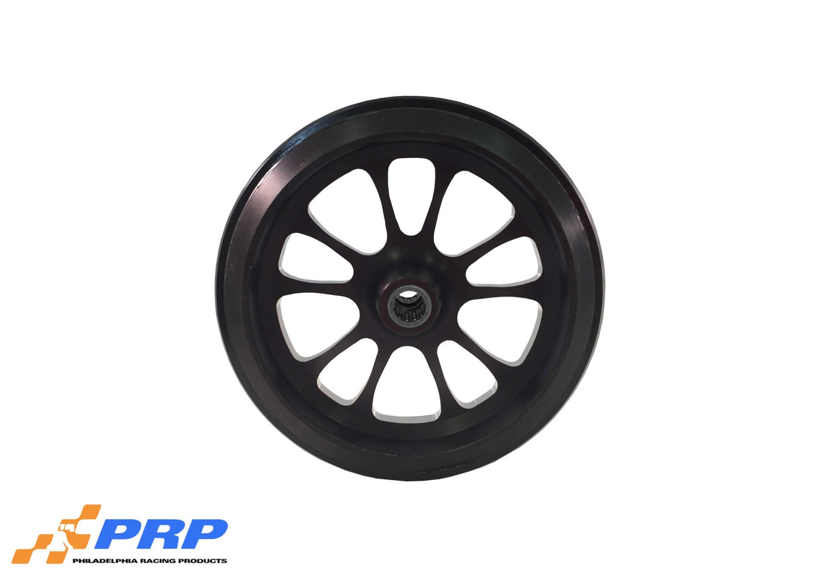 Black Anodized 10 Spoke Style with Bearing made by PRP Racing Products