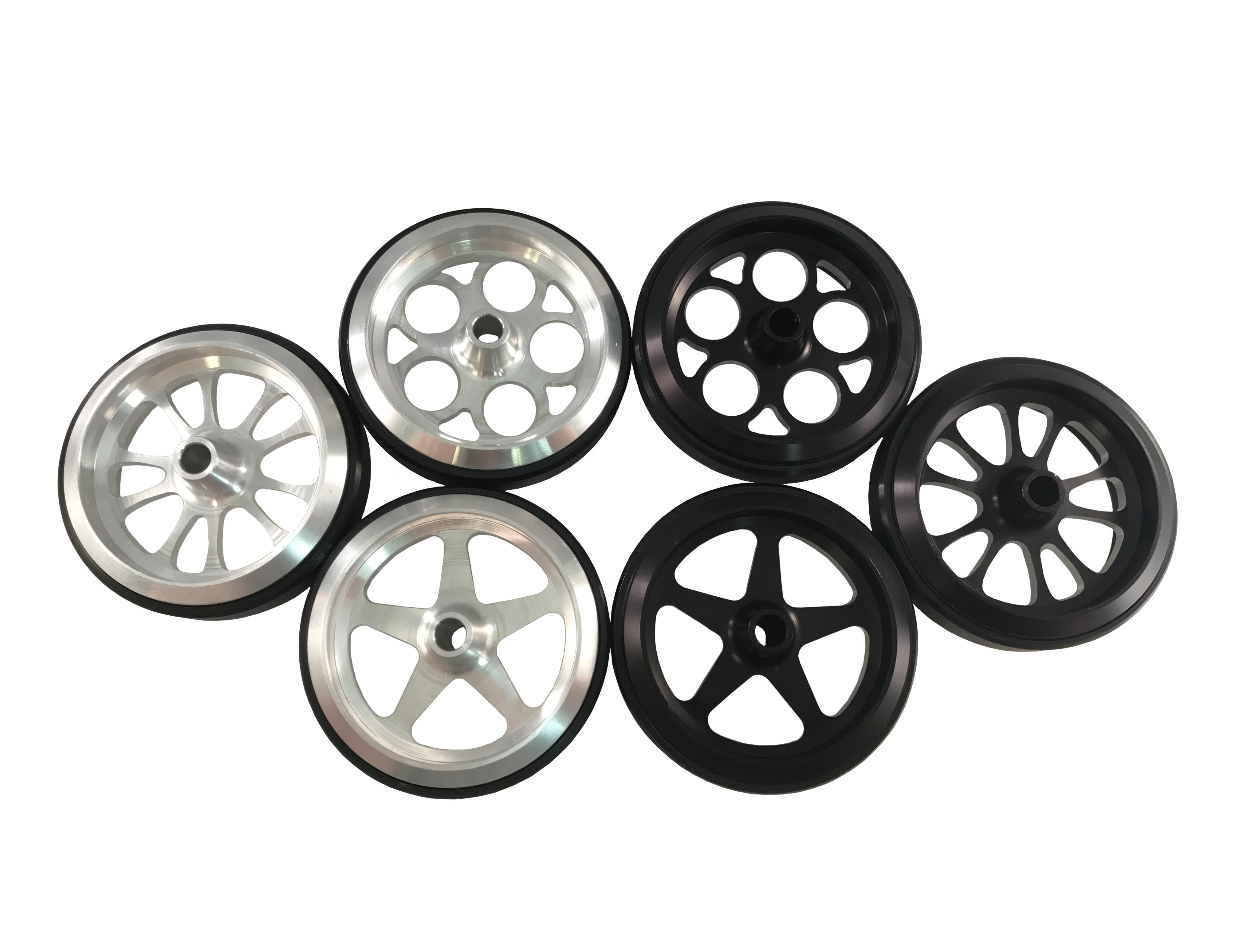 Billet Wheelie Bar Wheels