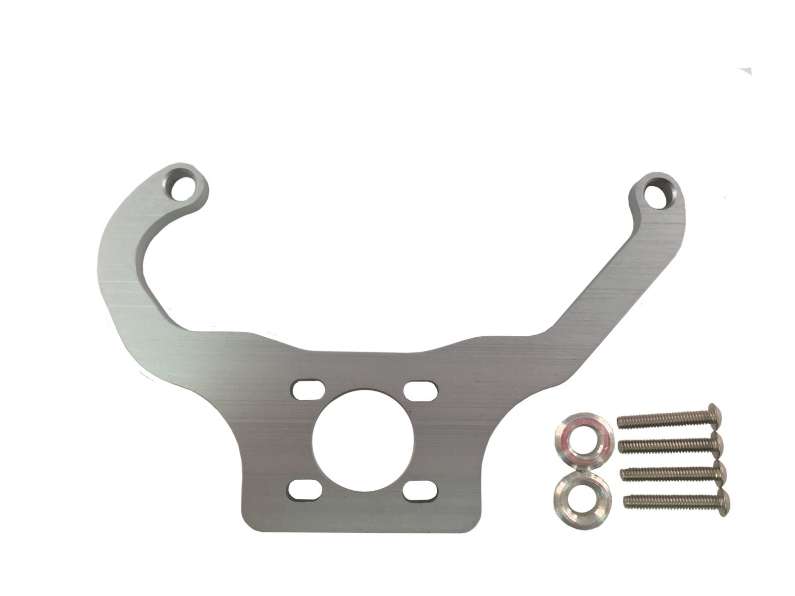 Clear Fuel Pressure Regulator Mounting Brackets Holley Quickfuel made by PRP Racing Products