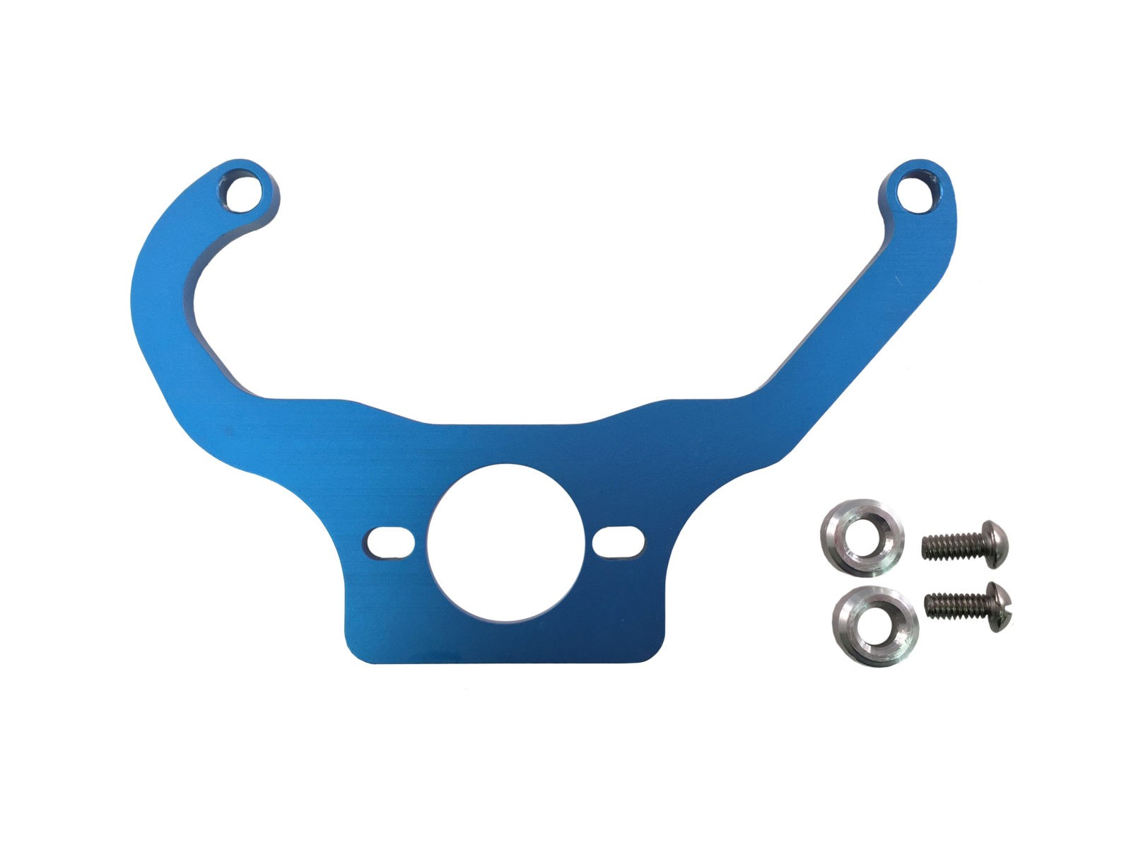 Blue Fuel Pressure Regulator Mounting Brackets Holley Quickfuel made by PRP Racing Products