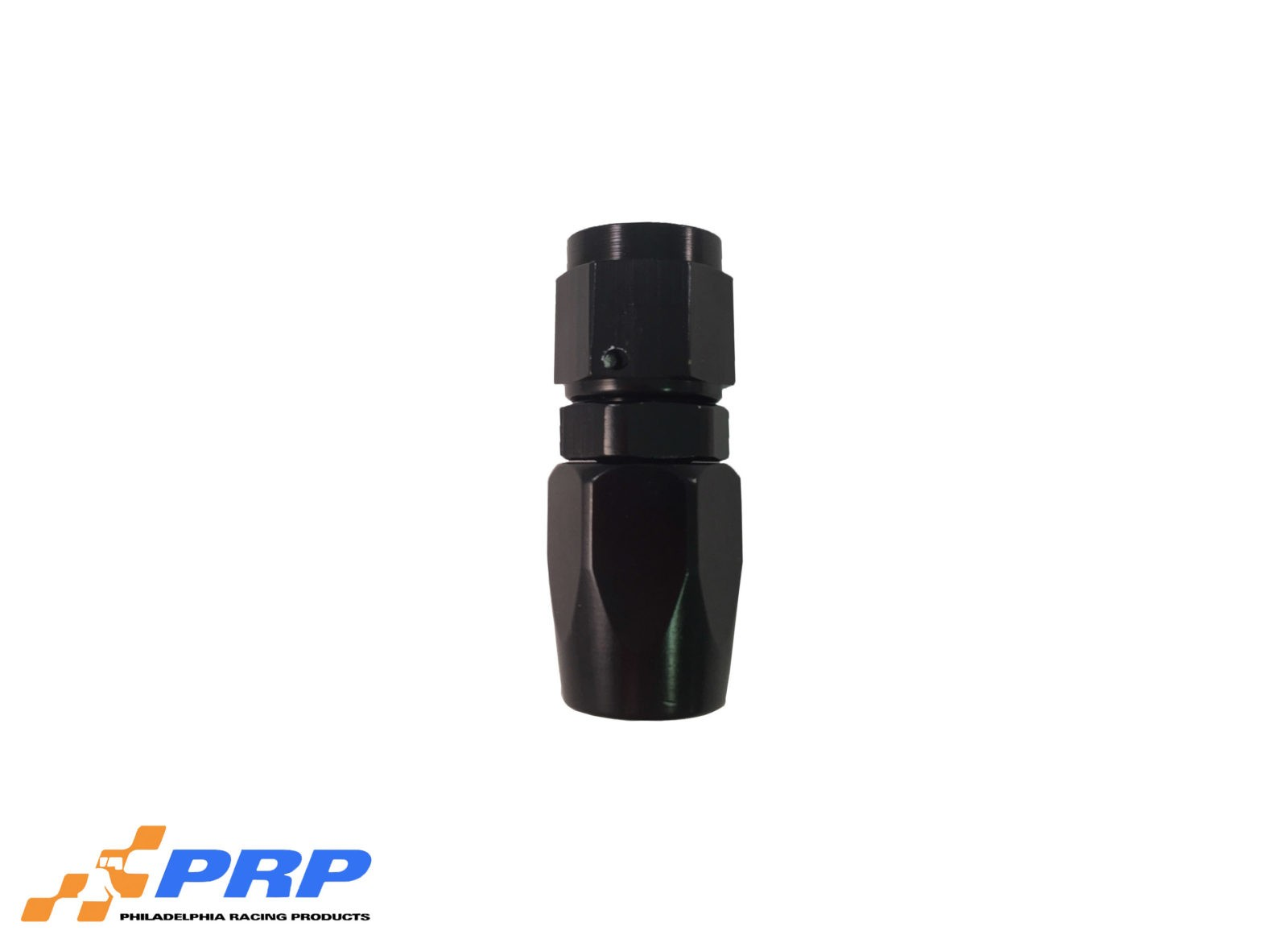 Black Straight Swivel Hose Ends - 6-AN by PRP Racing Products