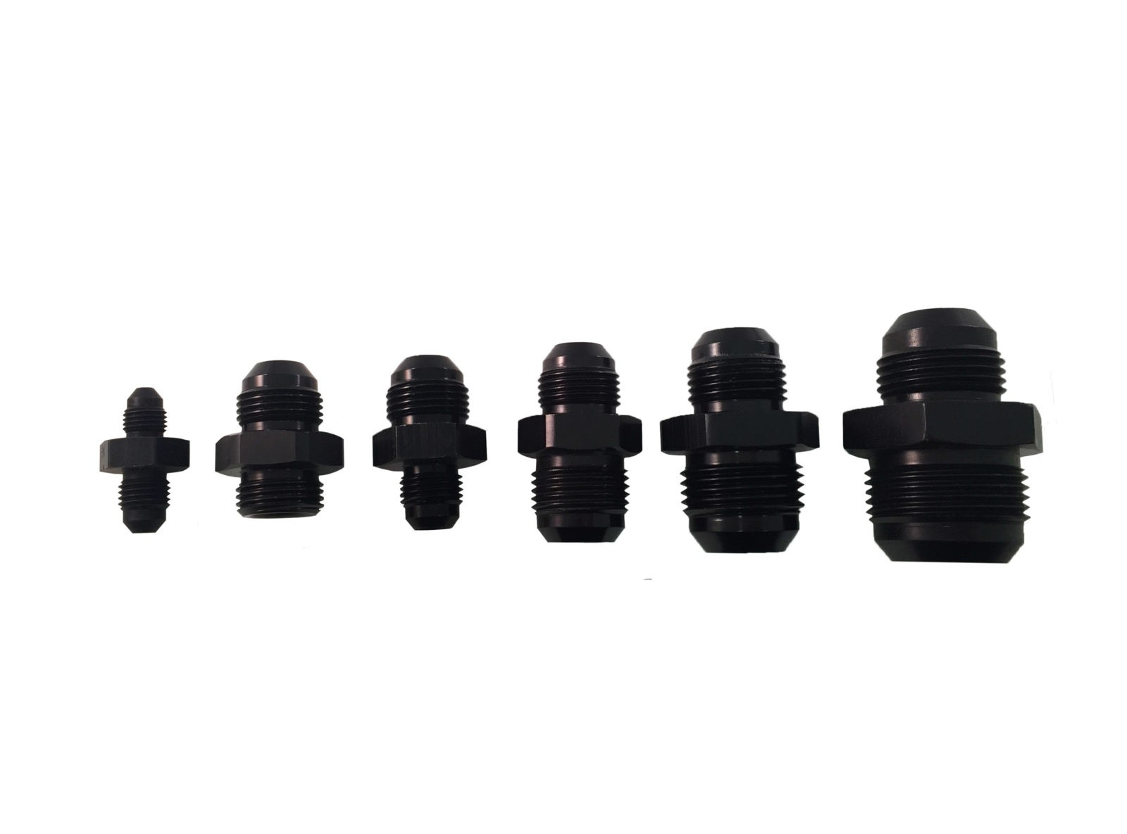 Black Flare Reducers made by PRP Racing Products