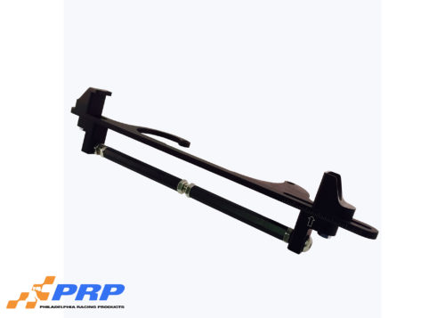 Black Manual Throttle Stop Kit shown in full made by PRP Racing Products