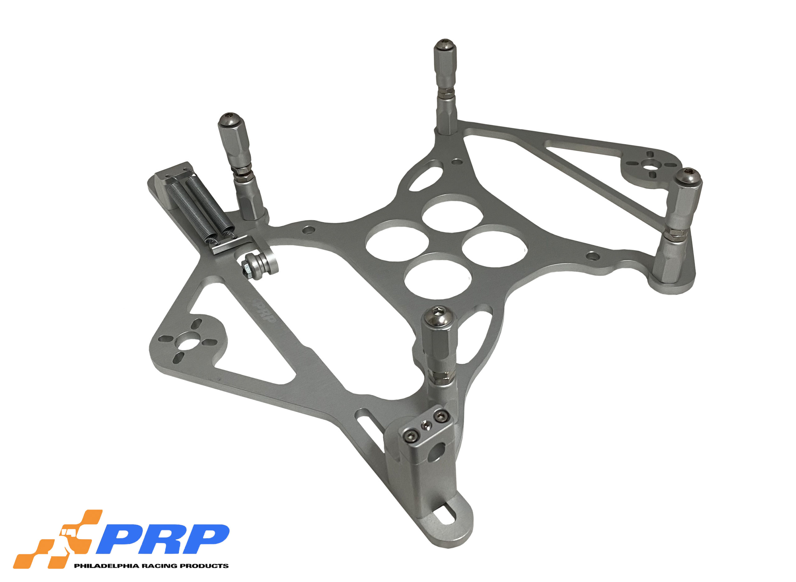 Silver 4150 Scoop Mounting Bracket With Nitrous Mount