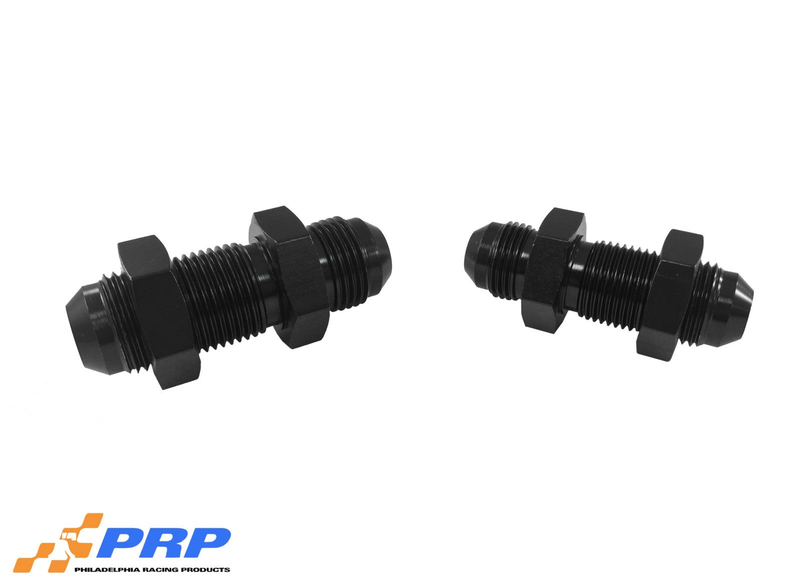 Black Straight Bulkhead Flare made by PRP Racing Products