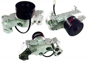 Clear LS Water Pump Group made by PRP Racing Products