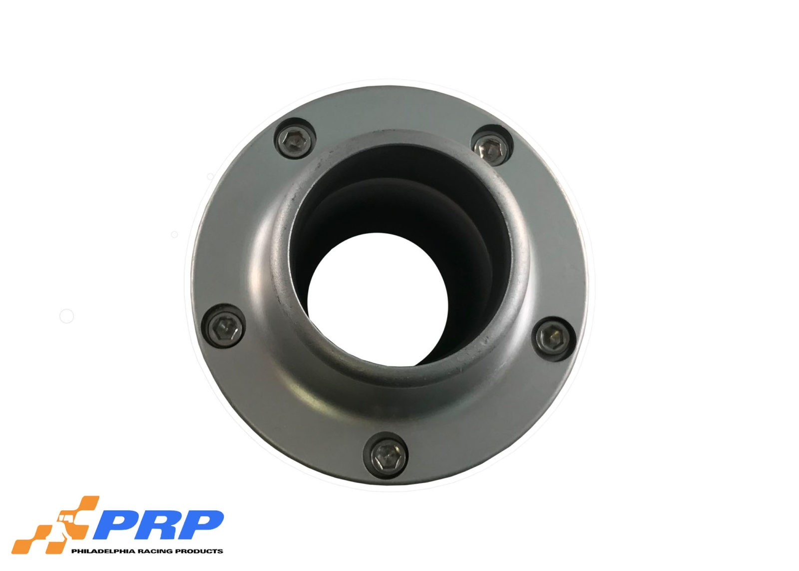 Clear Inline Thermostat Housing Made by PRP Racing Products Top View