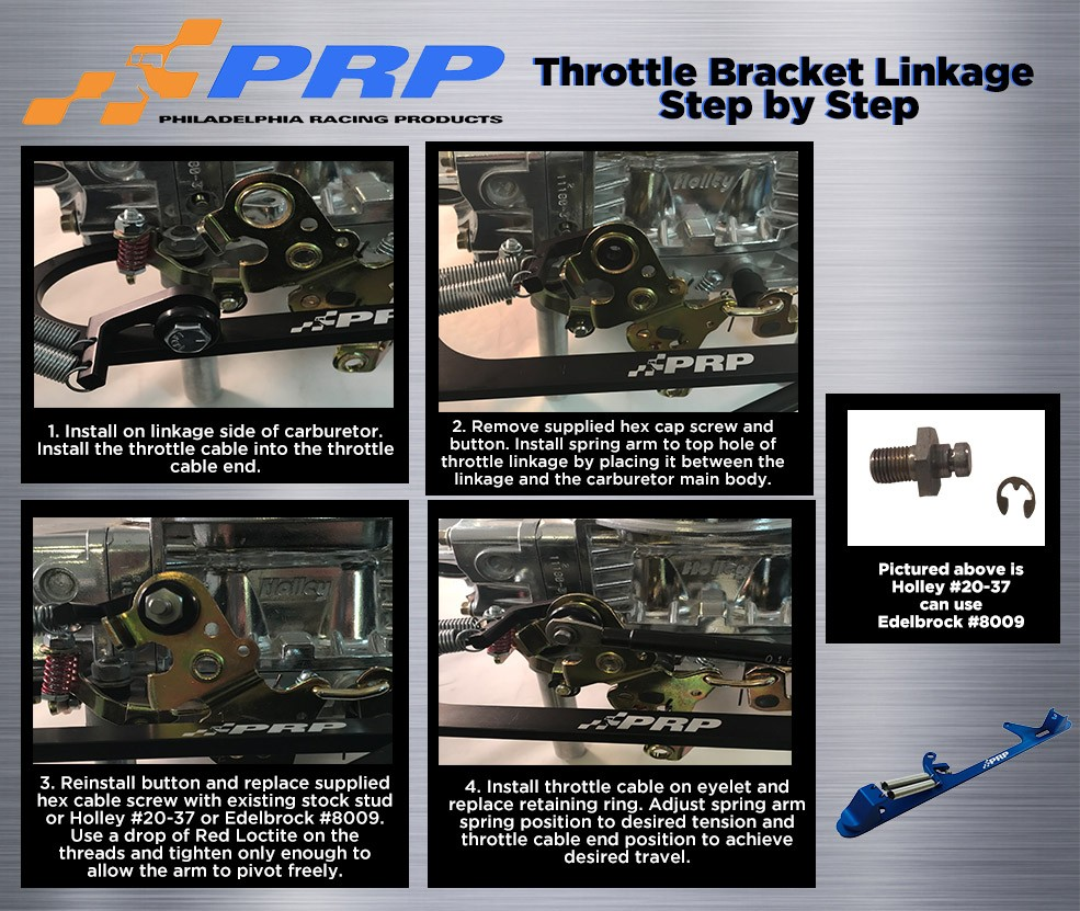 Throttle Bracket Linkage instructions