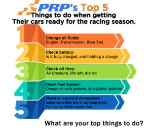 How Should I get my car ready to race?