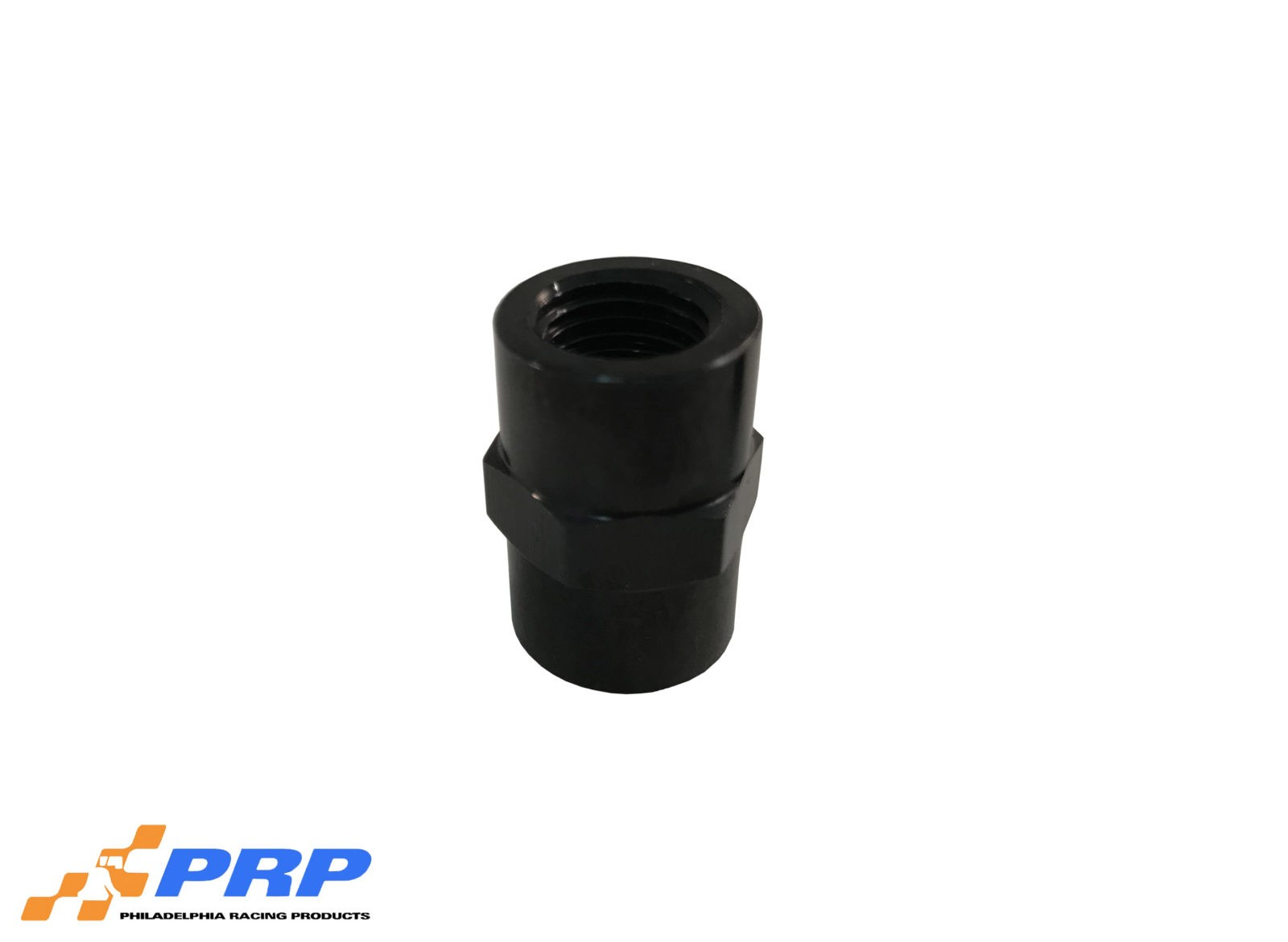 "Black Female Pipe Thread Coupler 1/4"" made by PRP Racing Products"