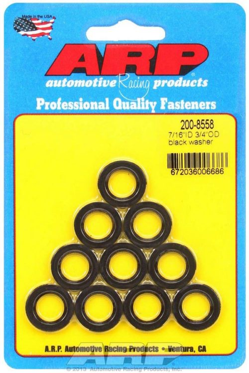 ARP's Black Washers 7/16 PRP Racing Products
