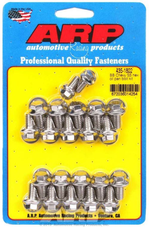 ARP's BBC SS Oil Pan Bolt Kit PRP Racing Products