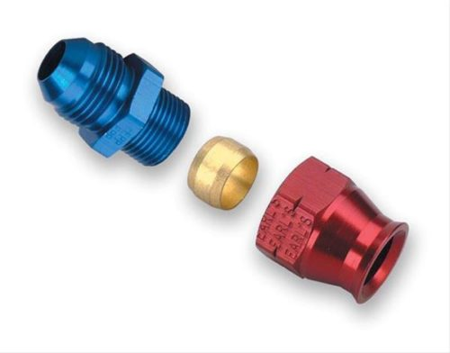 Red and Blue anodized fitting PRP selling