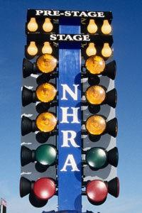 NHRA Drag Racing Christmas Tree