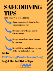 Safe Driving Tips PRP Racing Products Philadelphia Snow Driving in bad weather