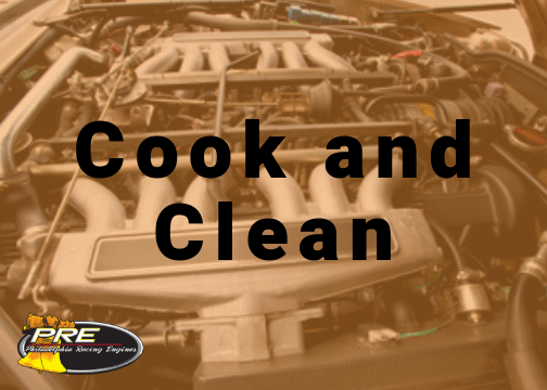 PRE Engine Shop Cook and Clean