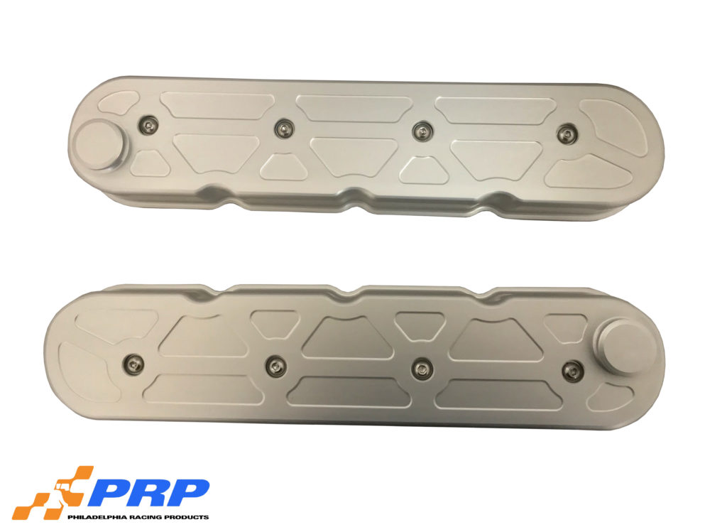 Silver Chevy LS Valve Covers
