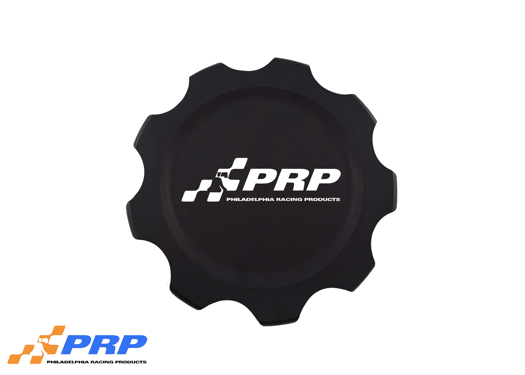 Black Replacement Fuel Cell Cap Made by PRP Racing Products