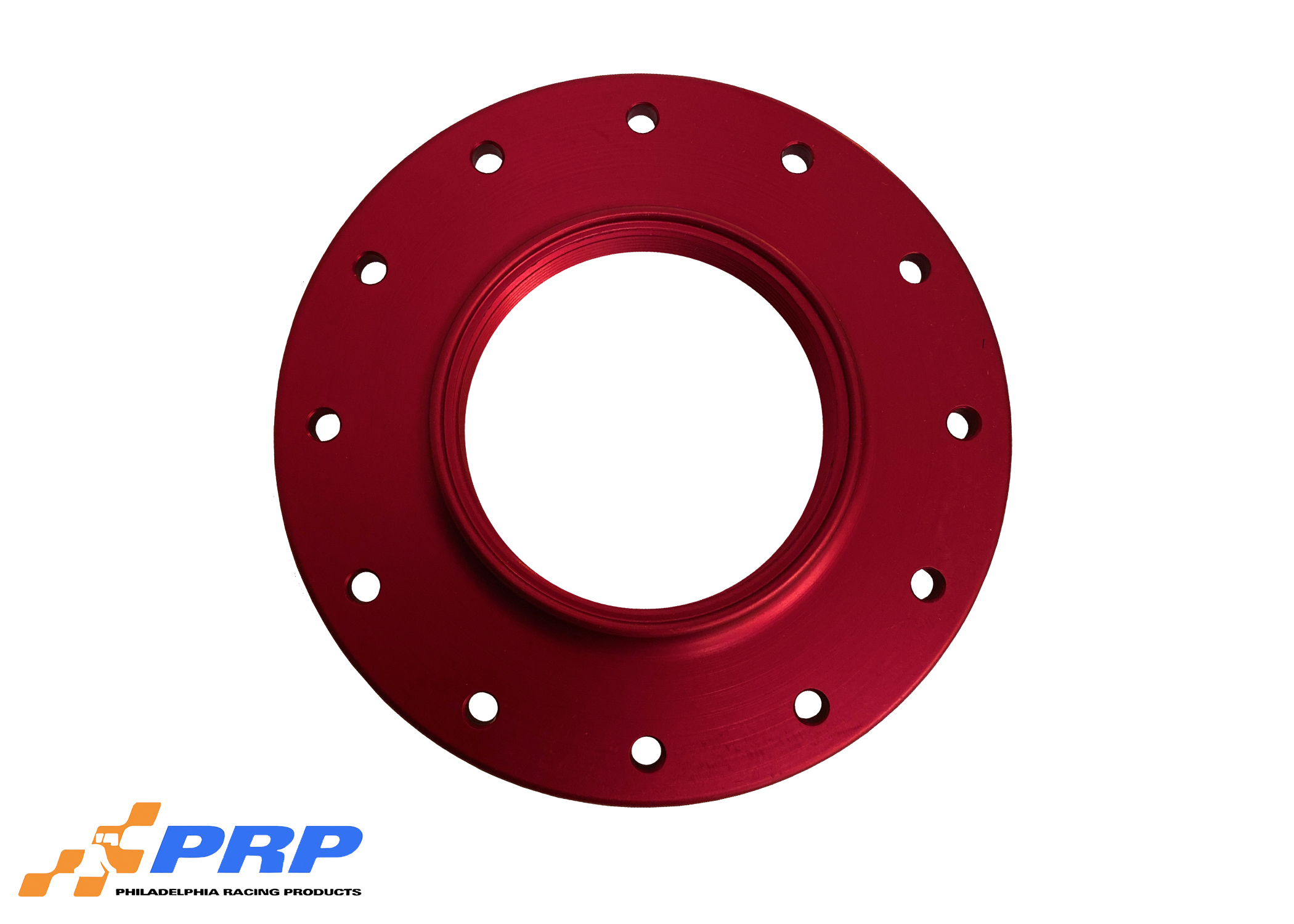 Red Anodized 12 Bolt Fuel Cell Bung made by PRP Racing Products