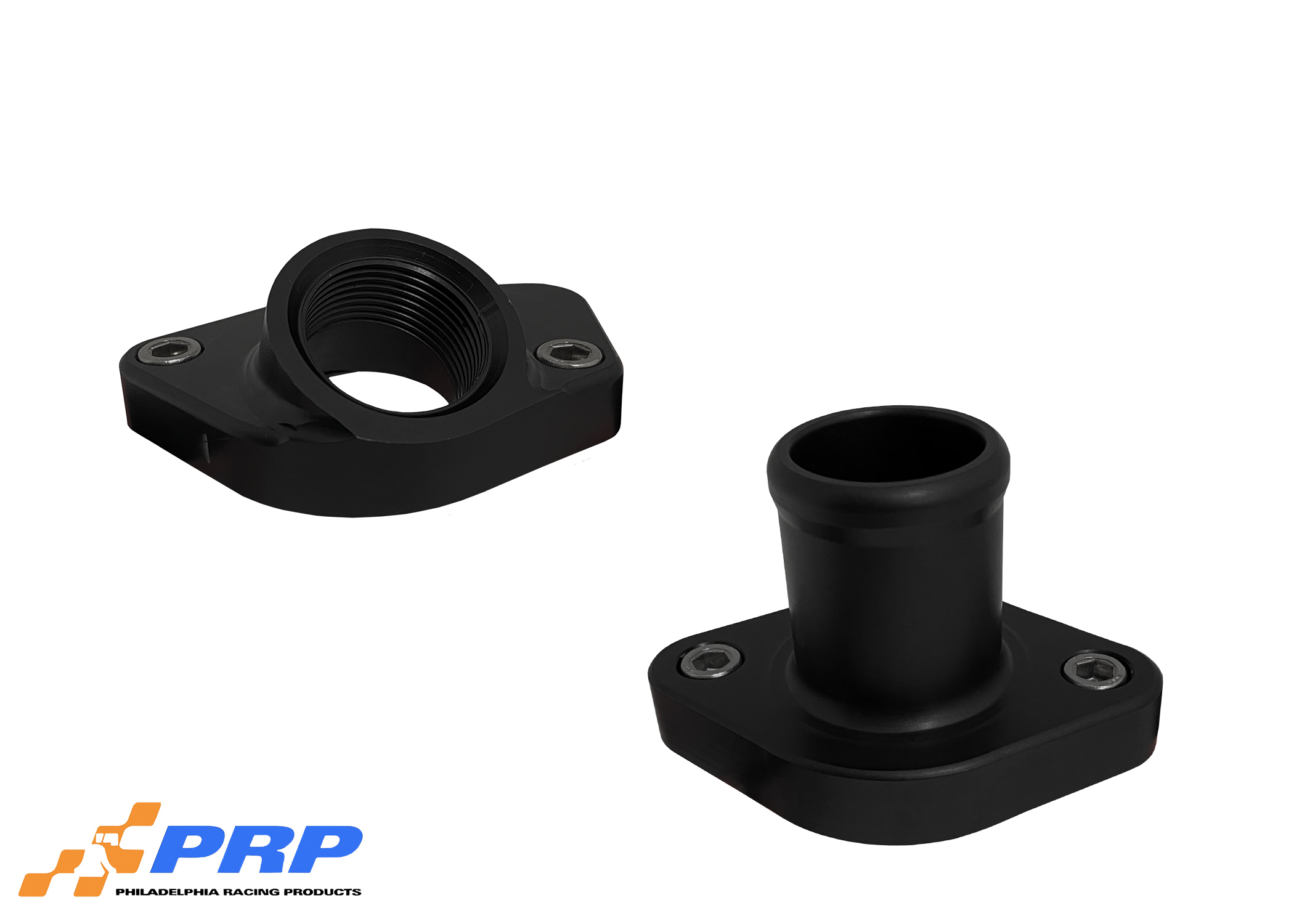 Mopar and Ford Fixed Water Necks Made by PRP Racing Products