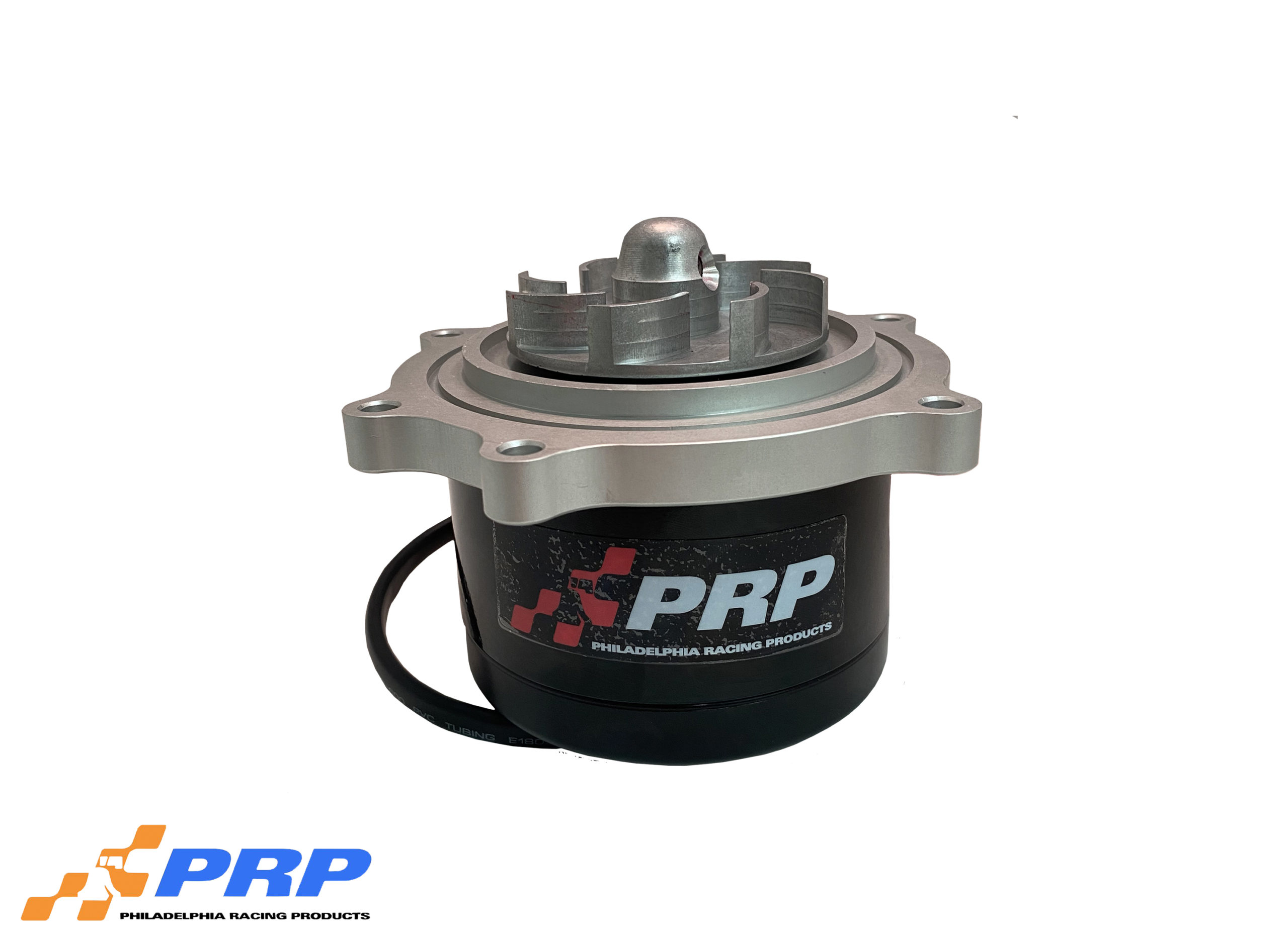 Clear LT1 Electric Water Pump made by PRP Racing Products